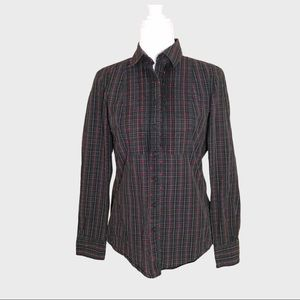 Brooks Brothers Red Fleece plaid shirt size 4
